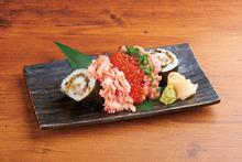 3种握寿司拼盘