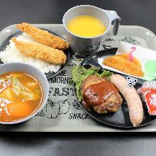 600日元组合餐