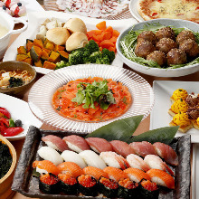 1,944日元套餐 (100道菜)