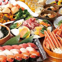 4,644日元套餐 (96道菜)
