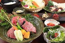 5,400日元套餐 (15道菜)