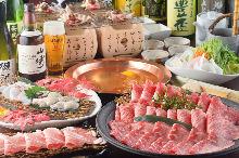 4,500日元套餐 (18道菜)