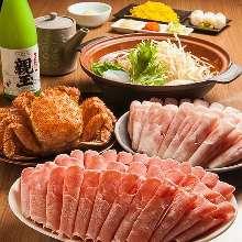 6,000日元组合餐 (6道菜)
