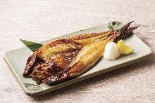 烤北方远东多线鱼