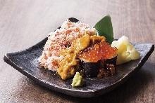 海鲜满溢寿司
