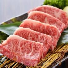 和牛横隔膜(中心部位附近的肉)