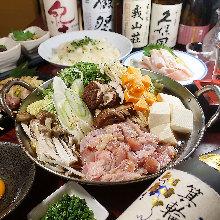 3,758日元套餐 (8道菜)