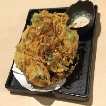 樱花虾炸什锦