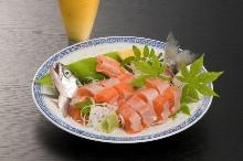 鳟鱼(生鱼片)