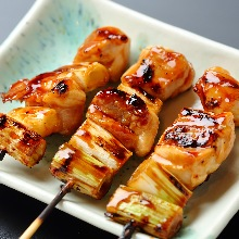 香葱鸡肉串