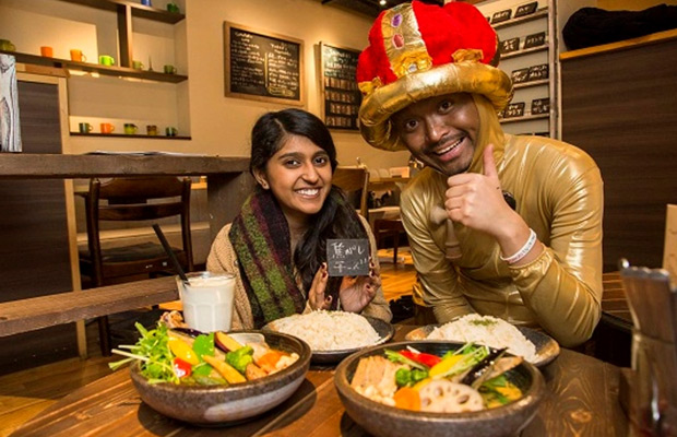 """【カレー】印度留学生也喜欢的""""咖喱一条街""""下北泽的咖喱"""