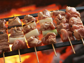 烤鸡肉串(烧鸟)