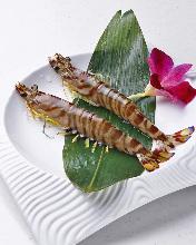 鲜虾铁板烧