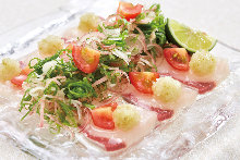 意式生腌鰤鱼