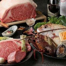 22,000日元套餐 (9道菜)