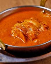 黃油煮鸡咖喱