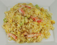 蟹肉生菜炒饭