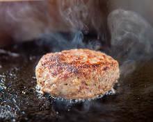 和牛肉汉堡牛排