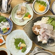 7,800日元套餐 (10道菜)