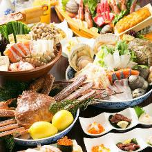 6,380日元套餐 (6道菜)