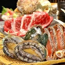 9,000日元套餐 (10道菜)