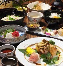 4,104日元套餐 (8道菜)