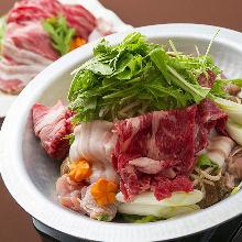 4,000日元套餐 (9道菜)