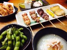2,200日元组合餐 (5道菜)
