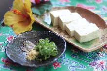 冷拌岛豆腐