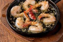 西班牙蒜香虾