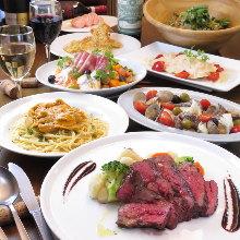 5,000日元套餐 (8道菜)