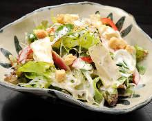 大和菜凯撒沙拉