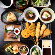 4,500日元套餐 (9道菜)