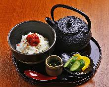 梅干茶泡饭
