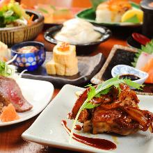 5,000日元套餐 (10道菜)
