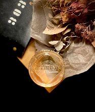 CHINESE CLAER MILK PUNCH    rum chinese liquer pineapple banana  earlgray vermouth milk coffee