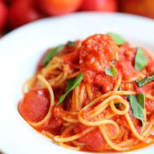 番茄酱意面