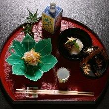 7,590日元套餐 (10道菜)