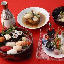 10,120日元套餐 (6道菜)