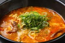 韩式蔬菜肉汤
