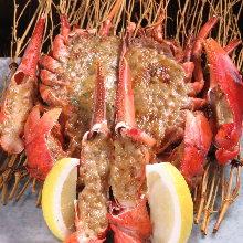 烤整只龙虾