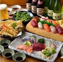 4,000日元套餐 (4道菜)