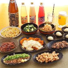 3,500日元套餐 (9道菜)