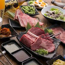 3,758日元套餐 (110道菜)