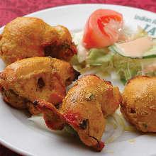 印度土锅烤鸡肉