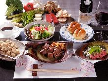 13,000日元套餐 (7道菜)