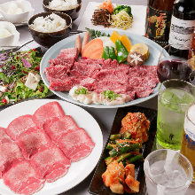 5,400日元套餐 (9道菜)