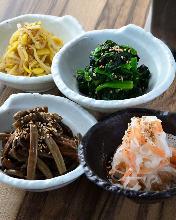 韩式拌菜拼盘