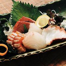 4种生鱼片拼盘