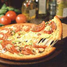 香辣番茄披萨